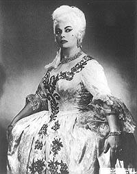 Biserka Cvejić kao Kneginja De Bouillon, Metropolitan Opera, New York, 1963.