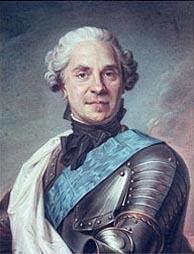 Marshal Maurice de Saxe, naslikao Maurice-Quentin de La Tour, Musée Carnavalet