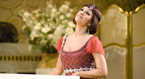 Angela Gheorghiu (Magda de Civry); San Francisco Opera, Giacomo Puccini, Lastavica, red. Stephen Barlow, dir. Ion Marin, 2007.; foto: Terrence McCarthy