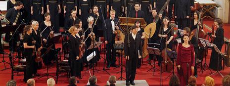 Izraelski barokni kolektiv Barrocade, Komorni zbor Ivan Filipović i dirigent Goran Jerković