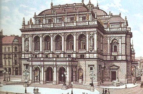 Bečka državna opera (tada Dvorska opera), 1890.