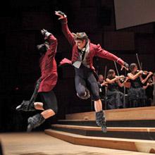članovi Baleta HNK u Zagrebu na koncertu na dar Zagrebačke filharmonije, foto: www.zgf.hr