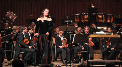 Kristina Kolar i Zagrebačka filharmonija, foto: www.zgf.hr