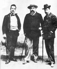 Giacomo Puccini, Giuseppe Giacosa i Luigi Illica