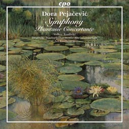 CD klasika: Dora Pejačević, Deutsche Staatsphilharmonie Rheinland-Pfalz, dir. Ari Rasilainen, CPO, 2008.