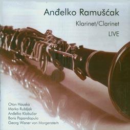 CD klasika: Anđelko Ramušćak, Klarinet/Clarinet Live, Aulos, Varaždin