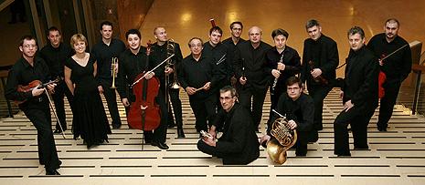 Cantus ansambl i dirigent Berislav Šipuš, foto: www.mbz.hr