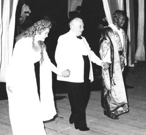 Dragica Martinis (Desdemona), Tullio Serafin (dirigent), Mario Del Monaco (Otello), Giuseppe Verdi, Otello, Napulj, 1951.