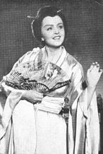 Cho-Cho-San, Giacomo Puccini, Madame Butterfly, Beč, 1952.