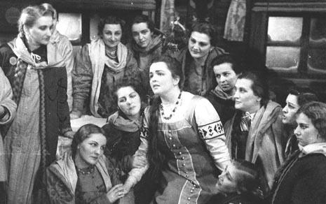 Mihail Glinka, Ivan Susanjin, Dragica Martinis (Antonida), HNK u Zagrebu, 1949.