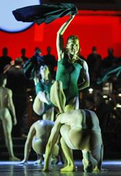 55. Splitsko ljeto: HNK u Splitu, Carl Orff, Carmina Burana, koreograf, dramaturg i redatelj Youri Vamos, dirigent Ivo Lipanović