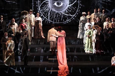 Teatro alla Scala, Milano, Wolfgang Amadeus Mozart, Čarobna frula, dir. Roland Böer, red. William Kentridge