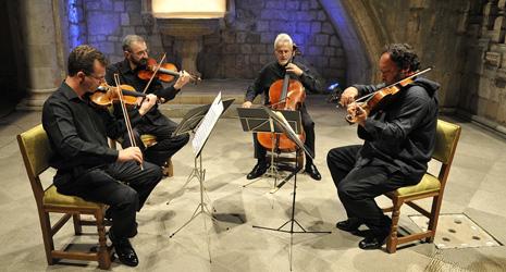 Gudački kvartet Tartini, foto: Damil Kalogjera, www.dubrovnik-festival.hr