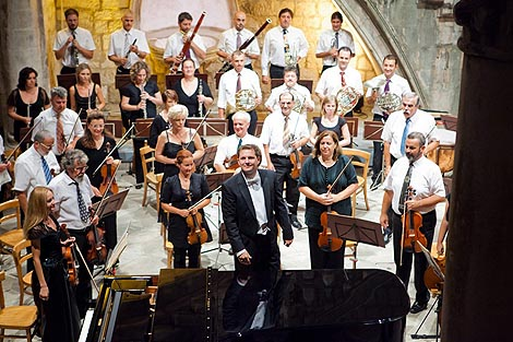 Dubrovački simfonijski orkestar i dirigent Johannes Klumpp