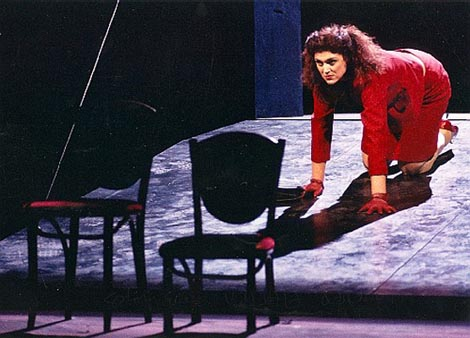 Dubravka Šeparović Mušović (Elektra); Hrvatsko narodno kazalište u Zagrebu (2003), Wolfgang Amadeus Mozart, Idomeneo, dir. Nikša Bareza, red. Herbert Kapplmueller, Lisa Stumpfögger, foto: www.dubravka-musovic.com