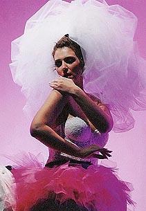 Dubravka Šeparović-Mušović (Adalgisa); Saarländisches Staatstheater Saarbrücken (2006.), Vincenzo Bellini, Norma, dir. Will Humburg, foto: www.dubravka-musovic.com