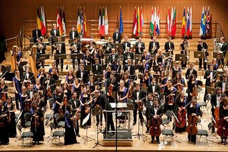 European Union Youth Orchestra, foto: © Tomasz Ogrodowczyk, www.euyo.org.uk