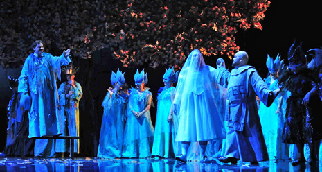 Hrvatsko narodno kazalište u Zagrebu: Giuseppe Verdi, Falstaff, dir. Michael Helmrath, red. Arnaud Bernard, foto: Saša Novković