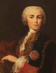Carlo Broschi, Farinelli s odličjem Viteza od Calatrave, ulje na platnu, Jacopo Amigoni, 1750-1752.