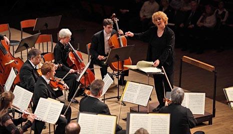 Filharmonijski orkestar grada Mainza, dir. Catherine Rückwardt, foto: Danko Vučinović, www.zgf.hr