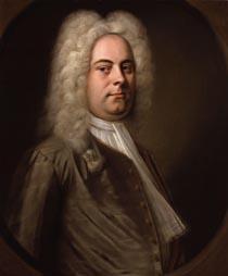 Georg Friedrich Händel, ulje na platnu, Balthasar Denner, 1727.