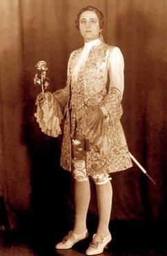 Đurđa Milinković (Octavian) – Richard Strauss, Kavalir s ružom, Bavarska državna opera, 1941.