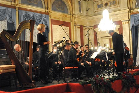 Cantus Ansambl, dirigent BErislav Šipuš, solistica Martina Gojčeta Silić, mezzsopran, Opatija, 4. studenoga 2010.