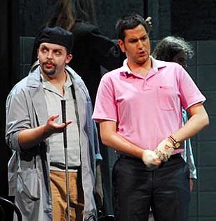 Goran Jurić (Pluton); Hrvatsko narodno kazalište u Zagrebu: Claudio Monteverdi, Orfej, red. Ozren Prohić, dir. Hervé Niquet, 2008.; foto: goranjuric.com