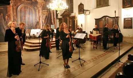 Hrvatski barokni ansambl, arhivska fotografija