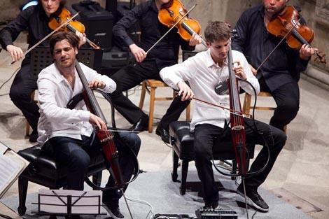 Stjepan Hauser, violončelo, Luka Šulić, violončelo, Zagrebački solisti
