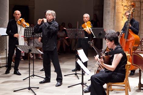 Il Giardino Armonico i njihov umjetnički voditelj Giovanni Antonini