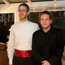 Mirko Jankov i Marko Mimica na jednom od prošlih koncerata u Salonu Očić, foto: www.croatianworldcalendar.com