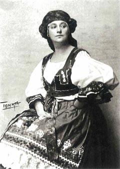 Vika Engel (Crkvenjarka) – Leoš Janáček, Njena pastorka (Jenůfa), Zagreb, 1920.
