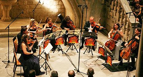 Završni koncert Festivala, violina i Krzysztof Penderecki, foto: Zoran Kusalo, www.rachlinandfriends.com