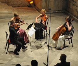 Kvartet Porin, foto: ŽEljko Tutnjević, www.dubrovacki.hr