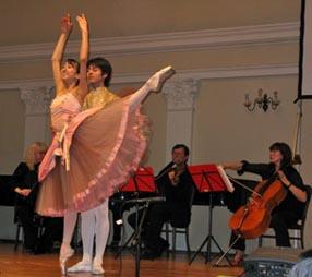 Rieka Suzuki na koncertu Gudačkog kvarteta Rucner