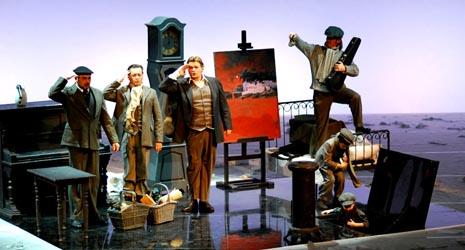 HNK u Zagrebu: Puccini, La Bohème, red. Arnaud Bernard, dir. Josip Šego, foto: © Novković