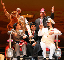 GK Komedija: Jacques Offenbach, Lijepa Helena, red. Dora Ruždjak Podolski, dir. Krešimir Batinić