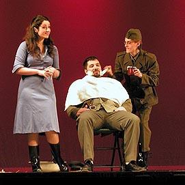 Ljubomir Puškarić (Belkore), Gaetano Donizetti, Ljubavni napitak, produkcija Muzičke akademije Zagreb, Kazalište Komedija, 2008.