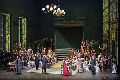 The Metropolitan Opera New York: Gaetano Donizetti: Lucia di Lammermoor, dir. Patrick Summers, red. Mary Zimmermann