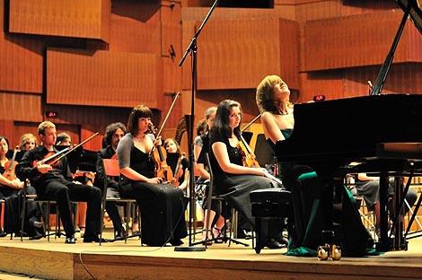 Orkestar Muzičke akademije Zagreb i pijanistica Jelena Pavić