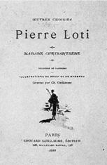 naslovnica knjižice Pierrea Lotija Madame Chrysanthème