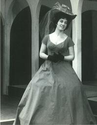 MAjda Radić kao Dona Clara u operi Vjenčanje u samostanu