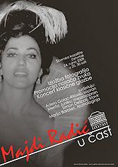 Plakat koncerta Majdi Radić u čast, Šibenik, 24. rujna 2009.