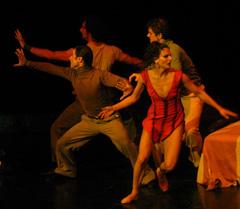 Magyar Állami Operaház (Mađarska državna opera), Budimpešta: Béla Bartók, Čudesni mandarin, koreograf Gyula Harangozó, foto: János Vajda
