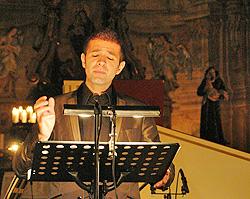 Max Emanuel Cenčić, Franjevačka crkva, Samobor, 3. listopada 2009., foto: www.samoborska-glazbena-jesen.com