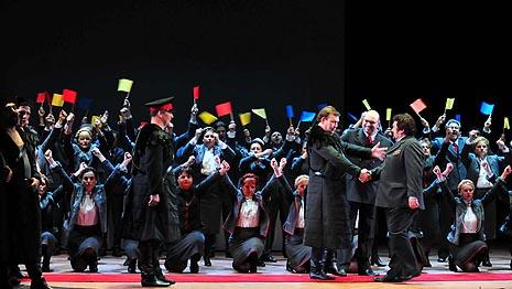 Hrvatsko narodno kazalište u Zagrebu: Petar Iljič Čajkovski, Mazepa, dir. Mihail Sinkevič, red. Ozren Prohić, foto: © Saša Niovković