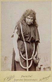 Milka Trnina kao Kundry na Bayreuthskim svečanim igarama 1899.