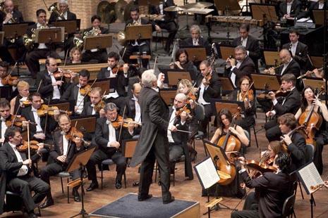 Državni simfonijski orkestar iz São Paula (Orquestra Sinfônica do Estado de São Paulo), arhivska fotografija