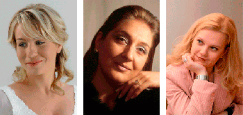Ana Durlovska, Gabriela Georgieva, Margareta Klobučar, foto: www.rijeckeljetnenoci.com